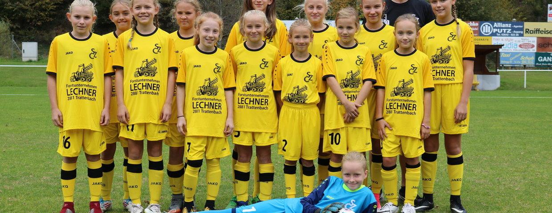 U12 Mädchen gewinnen bei der MSG Willendorf