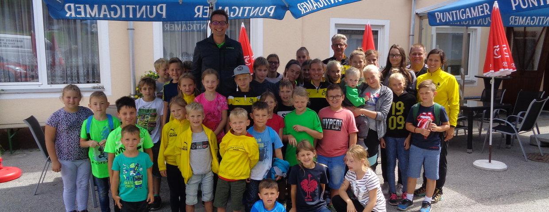 Jugend: Betriebsbesichtigung Aspanger Mineralwerke