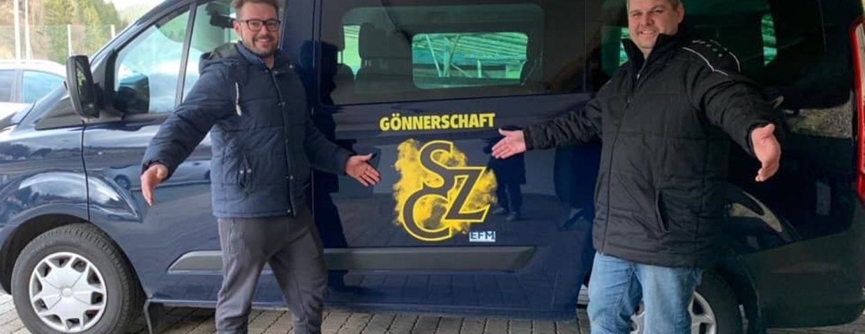 Neuer Bus beklebt! Danke Philipp Schabauer
