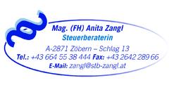 MAg. (FH) Anita Zangl Steuerberaterin Tel: 0664/5538444 A-2871 Zöbern, Stübegg 60