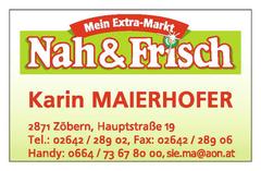 Nah&Frisch Karin Maierhofer Zöbern Hauptstraße 19